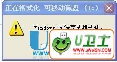 windows无法完成格式化U盘的几种终极解决办法