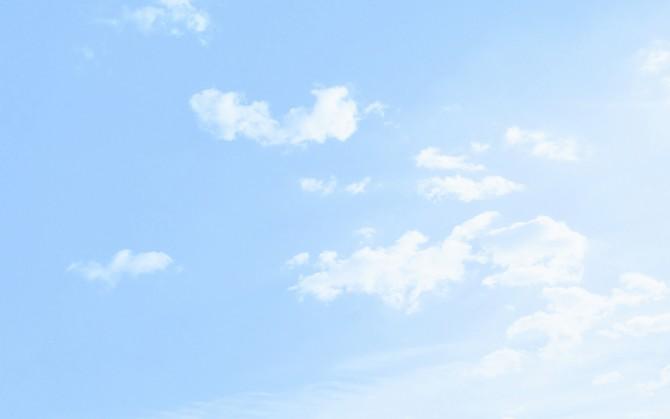 蓝天白云风景图片壁纸下载